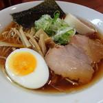 国民食堂 - ネオ正油らーめん 650円