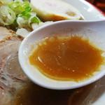 国民食堂 - 魚介パンチ スープアップ