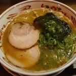 あじゅち屋 - 中華麺 熟成650円