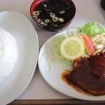 のんき食堂 - とんテキライス