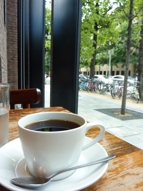 エルマーズグリーンカフェ - こだわりのコーヒー♪