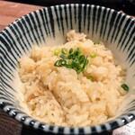 147780589 - 和風楽麺 四代目 ひのでや セットの帆立御飯