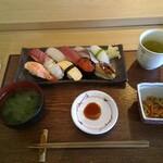 寿司 しながわ 葵 - おまかせ握り