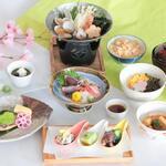 日本料理あじさい - 春の葵会席