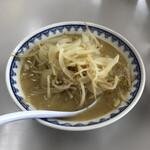 食堂ミサ - 料理写真:みそラーメン(半玉)