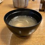 宵の口 - 鶏スープ。