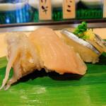 寿司 魚がし日本一 - げそ、他