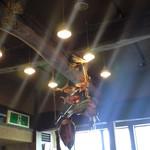大磯大衆食堂 えびや - お洒落なオブジェ。
