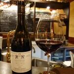 コントワール15 - Domaine de la Choupette Santenay 'Comme Dessus'(ドメーヌ・ド・ラ・シュペット サントネイ コム・ドシュ)深い紫がかった赤✨意外と野菜にもあってシャープ♫