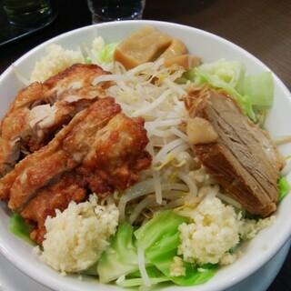 つけ麺丸和 - 料理写真:汁なしジロー麺300
