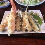 Nijou - 上天ぷら定食の天ぷら
