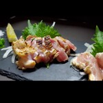 SATSUMAYA - 比内地鶏のタタキ