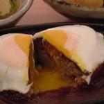 家庭料理 きんどん - 一番人気★きんどんのハンバーグ。ぜひ一度食べてみてください!