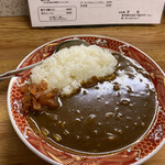 栄龍 - 料理写真:カレーライス(辛口)