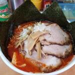 北海道ラーメン 赤レンガ - 味噌オロチョンラーメン 海苔増し チャーシュー2枚増し