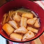 三丁CAFE - 令和2年11月 ランチタイム(11:30~15:30) お昼のランチのスープ