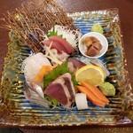 味覚天国 たまや - 料理写真:刺身盛り合わせ2人前 1960円