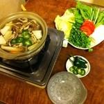 桃太郎 - 桃太郎鍋のダシがベースの美鍋。