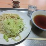 白須うどん - つけうどん(350円)_2012-09-11