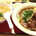 正香園 - 料理写真:パイコー飯セット 880えん