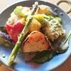 カザーナ - 料理写真:期間限定販売♬春野菜とインドチーズのバーベキュー