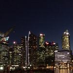 147834158 - Singapore night view