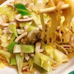 鴨猟理 まりも本店 - 太麺が美味しい