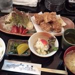 わか菜 - ランチ鶏から揚げ定食