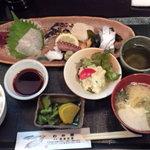 わか菜 - ランチお刺身定食