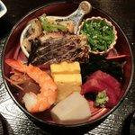Akasakaajisai - 特製小箱弁当<限定15食> 1050円 の特製小箱弁当