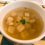 ピッツェリア ラポルタ - スープ