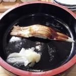 築地 海宝館 勝鬨寿し 総本店 - 宝セット(穴子一本握り)