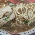 ラーメン 藤 - 麺とチャーシュー