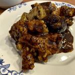 147857968 - 鳥ムネ肉の豆豉炒め…みたいっす‼︎(^^;