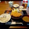 葉実皮 - 料理写真:三元豚ロースかつ定食