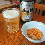 田川 - ビール 中ビン