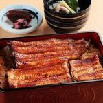 うな重『松』(鰻蒲焼1尾+1/4尾)