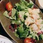 てしごとや - 海老とアボカドのシーザーサラダ