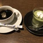月の蔵人 - セットの珈琲&自家製甘味