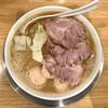 力皇 - 料理写真:力皇チャーシュー麺 つくね2個追加