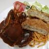 フジランチ - 料理写真:ハンバーグ、コロッケ