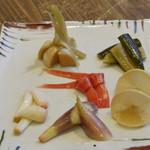 ワラウカド - 自家製 季節野菜の三杯酢漬け
