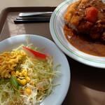 府中自動車運転免許試験場食堂 - 料理写真: