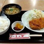 味加味 - 琉香豚トンカツ定食 税込1250円+税