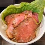 板前焼肉 一光 - 令和2年8月 ランチタイム ミニローストビーフ丼