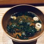 鮨与志乃 - お吸い物