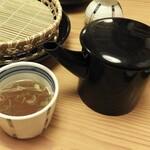 湖穂里 - 蕎麦湯