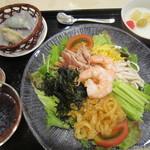 chuugokuryourinanen - 五目冷麺と点心セット