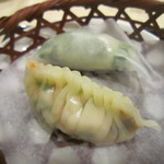 chuugokuryourinanen - 点心の蒸し餃子