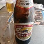 フルーレ - ドリンク写真:瓶ビール(中瓶)